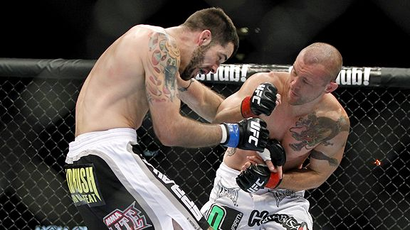 Chris Lytle vs. Matt Brown at UFC 116