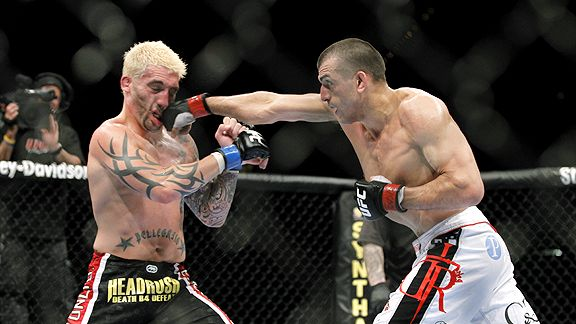 George Sotiropoulos vs. Kurt Pelligrino at UFC 116