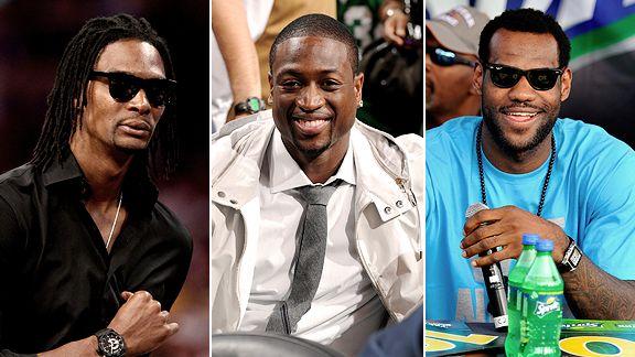 Bosh, Wade & James