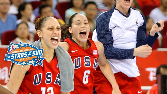 Sue Bird & Diana Taurasi