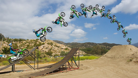 Bikes Jumping Ramps Look how low this bike is here