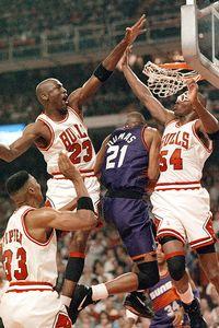 Jordan, Pippen and Grant