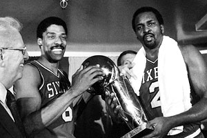 NBA Title Trophy