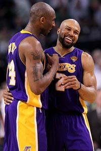 Kobe Bryant & Derek Fisher