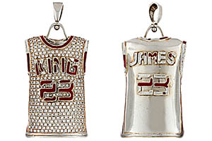 LeBron James Pendant