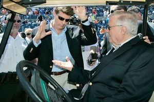 Hal and George Steinbrenner
