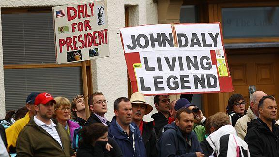 John Daly fans