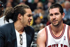 Brad Miller and Joakim Noah 
