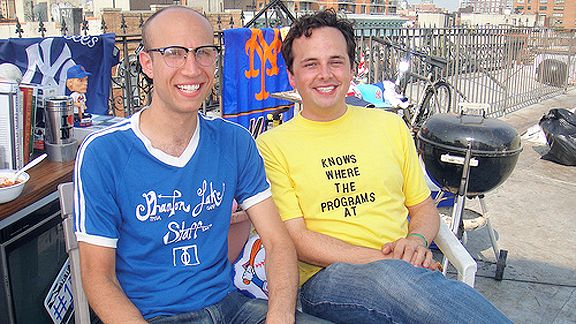 Adam Lustick and Matt Fisher