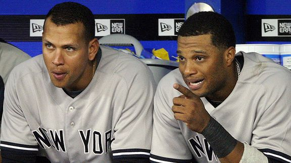 Alex Rodriguez, Robinson Cano