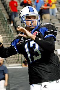 Former Dallas Desperados QB Clint Dolezel