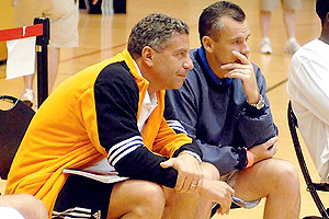 Bruce Pearl and Billy Donovan