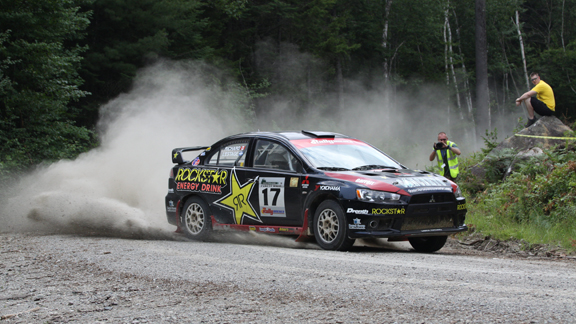 Canadian Antoine L'Estage wins his first rally title.