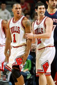 Derrick Rose and Kirk Hinrich
