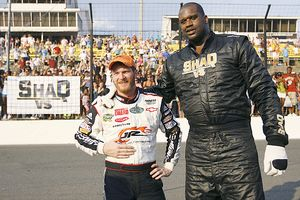 Shaq and Dale Earnhardt jr