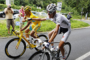 Contador/Schleck