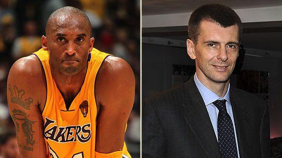 Kobe Bryant & Mikhail Prokhorov