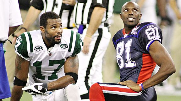 Braylon Edwards and Terrell Owens