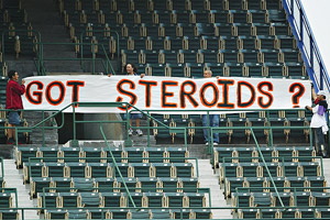 Steroids Sign