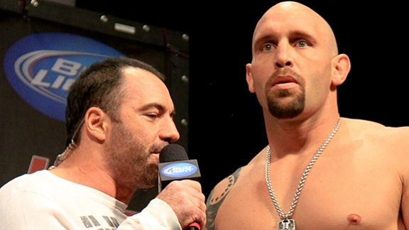 Shane Carwin and Joe Rogan