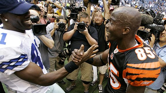 Terrell Owens and Chad Ocho Cinco