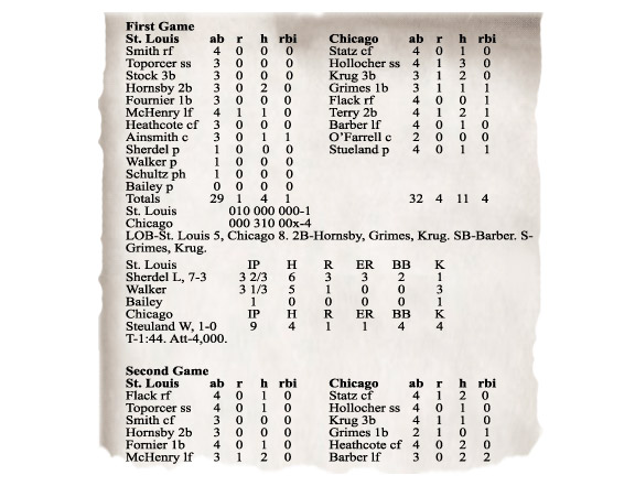 The End Of The Printed Box Score: A Chilling Harbinger Of Things To ...