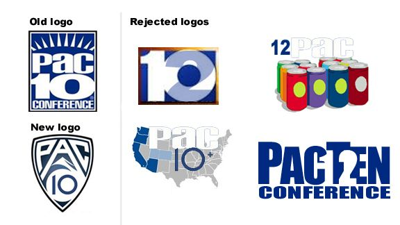 The Pac-10, which will soon become the Pac-12, unveiled a new logo ...