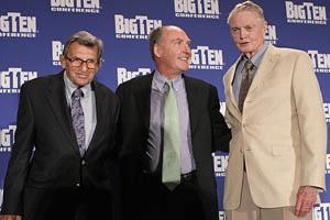 Joe Paterno, Tom Osborne and Jim Delany