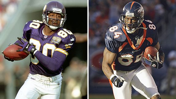 Cris Carter and Shannon Sharpe