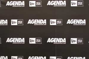Agenda is the tradeshow, New Era is a title sponsor.