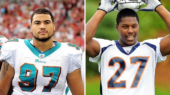 Phillip Merling and Knowshon Moreno