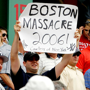 Boston Massacre Sign