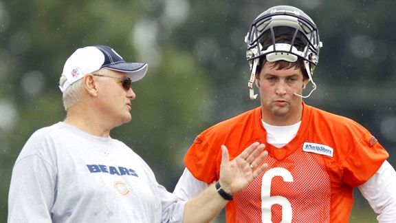 Mike Martz and Jay Cutler