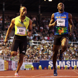 Tyson Gay & Usain Bolt
