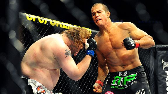 Junior Dos Santos and Roy Nelson