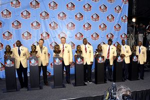 Pro Football Hall of Fame Enshrinement Ceremony