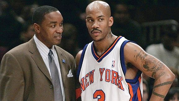 Isiah Thomas and Stephon Marbury