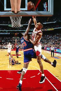 Scottie Pippen and Patrick Ewing