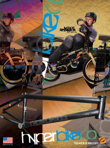 Spinner's new signature Hyper frame, the MIA.