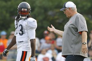Mike Martz and Devin Hester