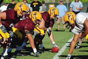 Arizona State offensive line