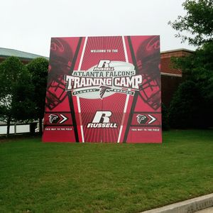Falcons training camp