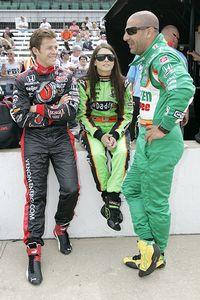 Marco Andretti, Danica Patrick, Tony Kanaan