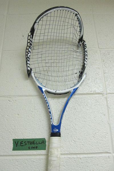 Estrella broken racket