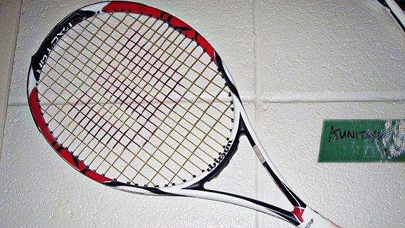 Igor Kunitsyn broken racket