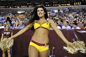 Redskins Cheerleader