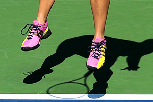 Melanie Oudin's Shoes