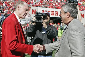 Tom Osborne and Bill Byrne