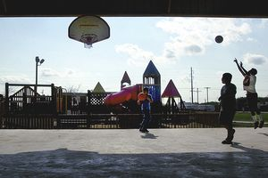 playground basketball