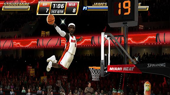'NBA Jam' - Miami Heat